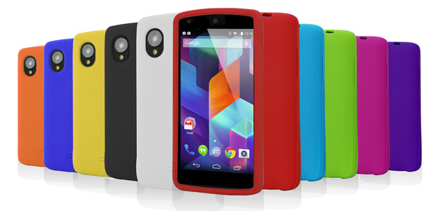 10-in-1 Silicone Case Pack for Nexus 5