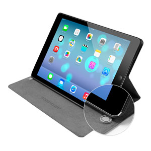 Spigen Slimbook Case for iPad Air - Metallic Black
