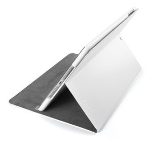 Spigen Slimbook Case for iPad Air - Metallic White
