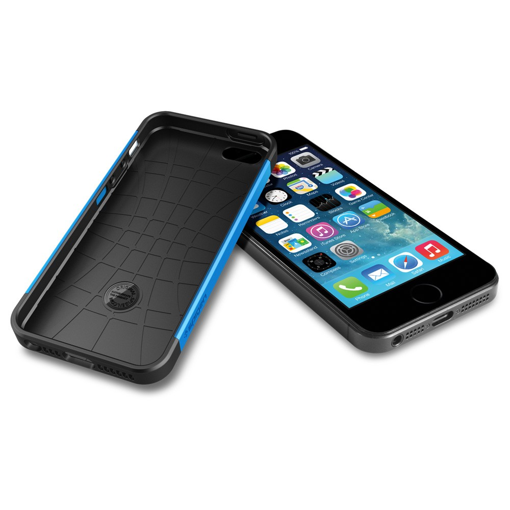 Slim Armor S View Case for iPhone 5 - Blue