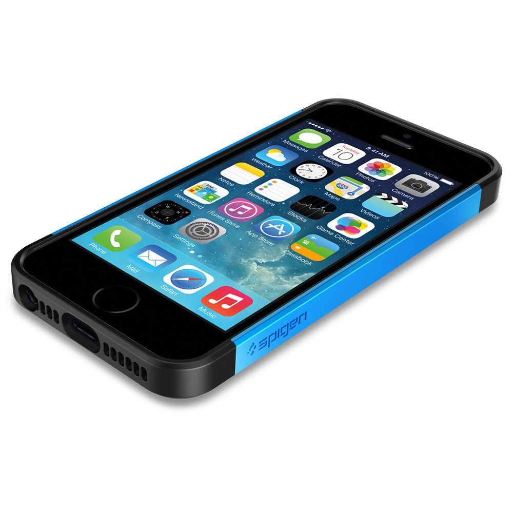 Slim Armor S Case for iPhone 5 - Blue
