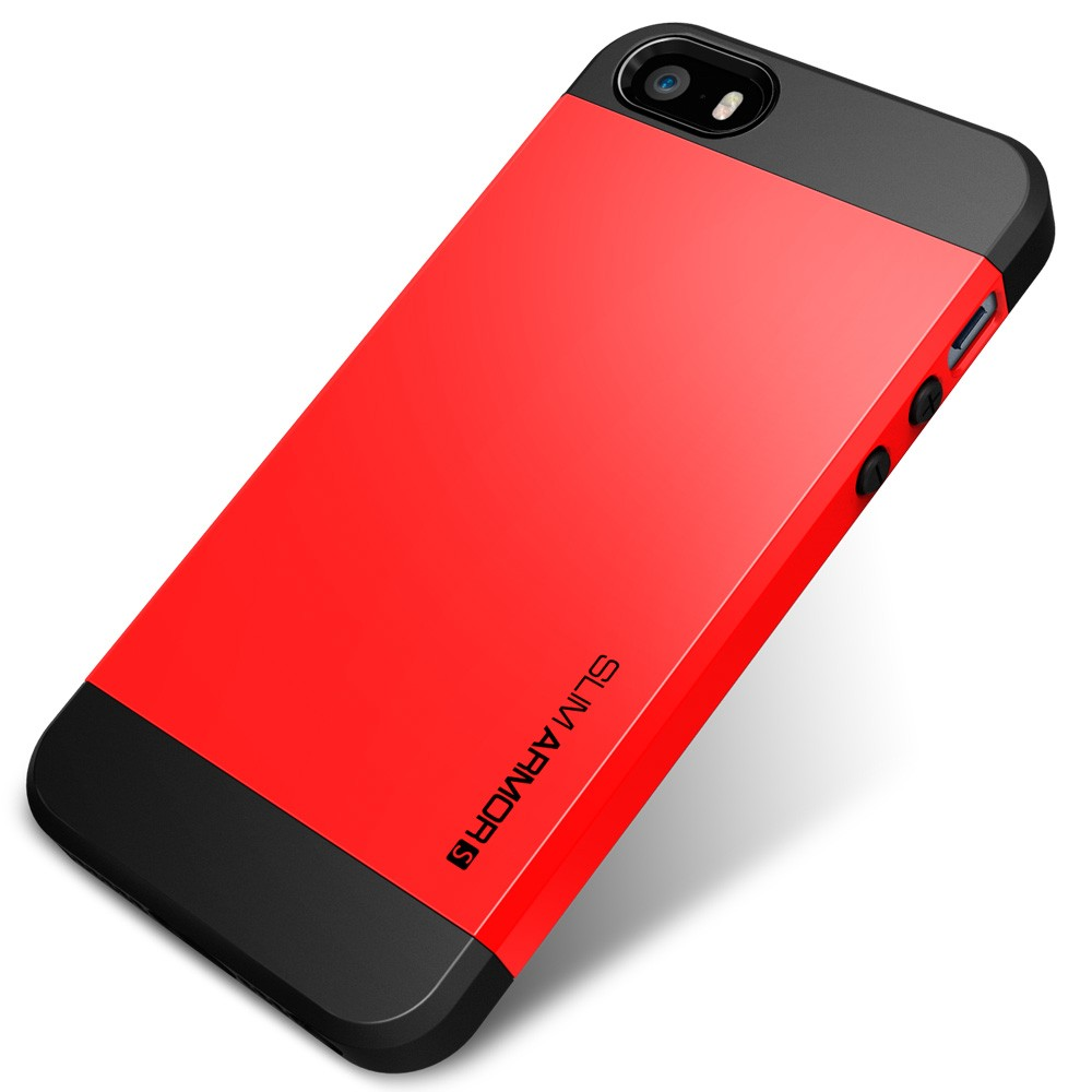 Slim Armor S Case for iPhone 5 - Red