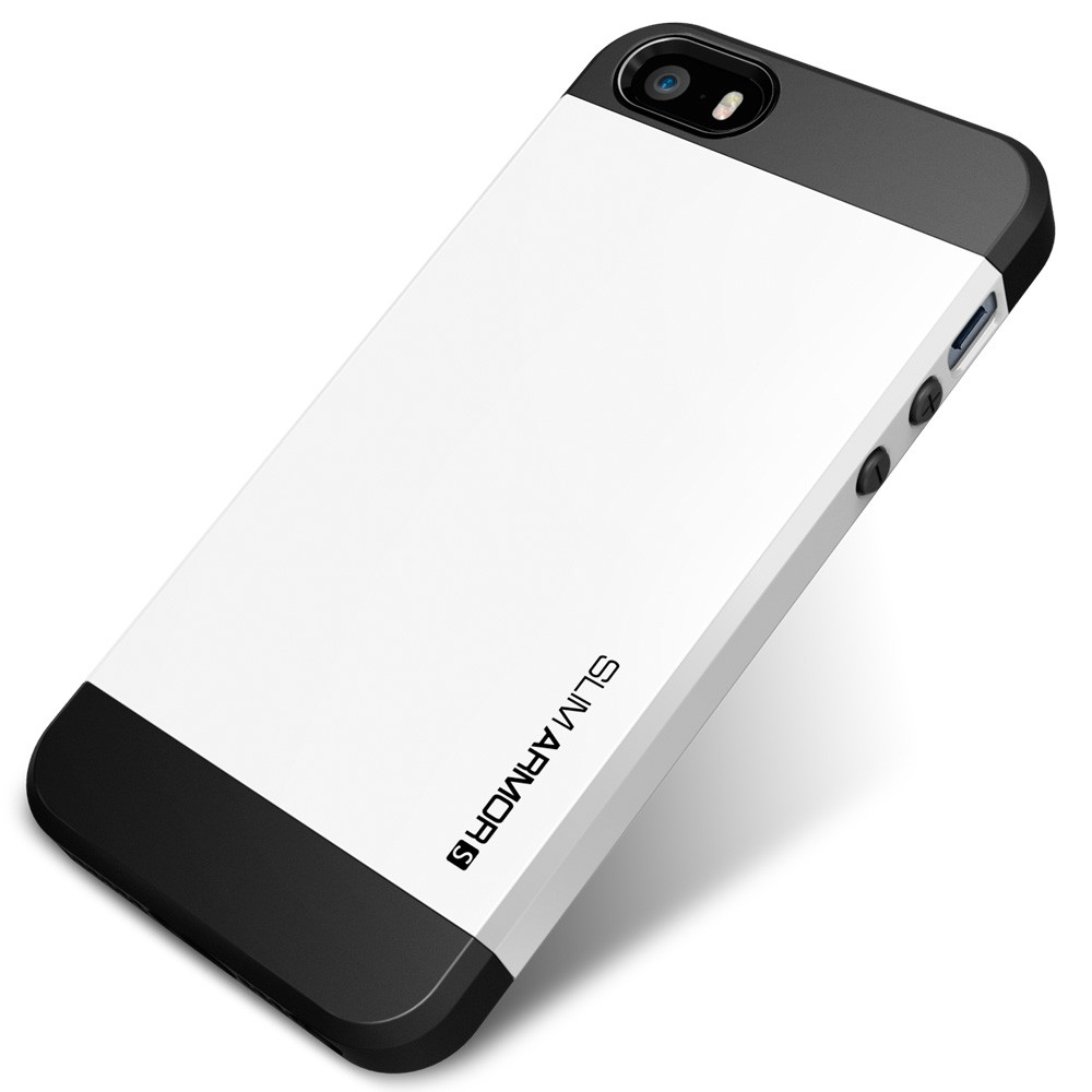 Slim Armor S Case for iPhone 5 - White