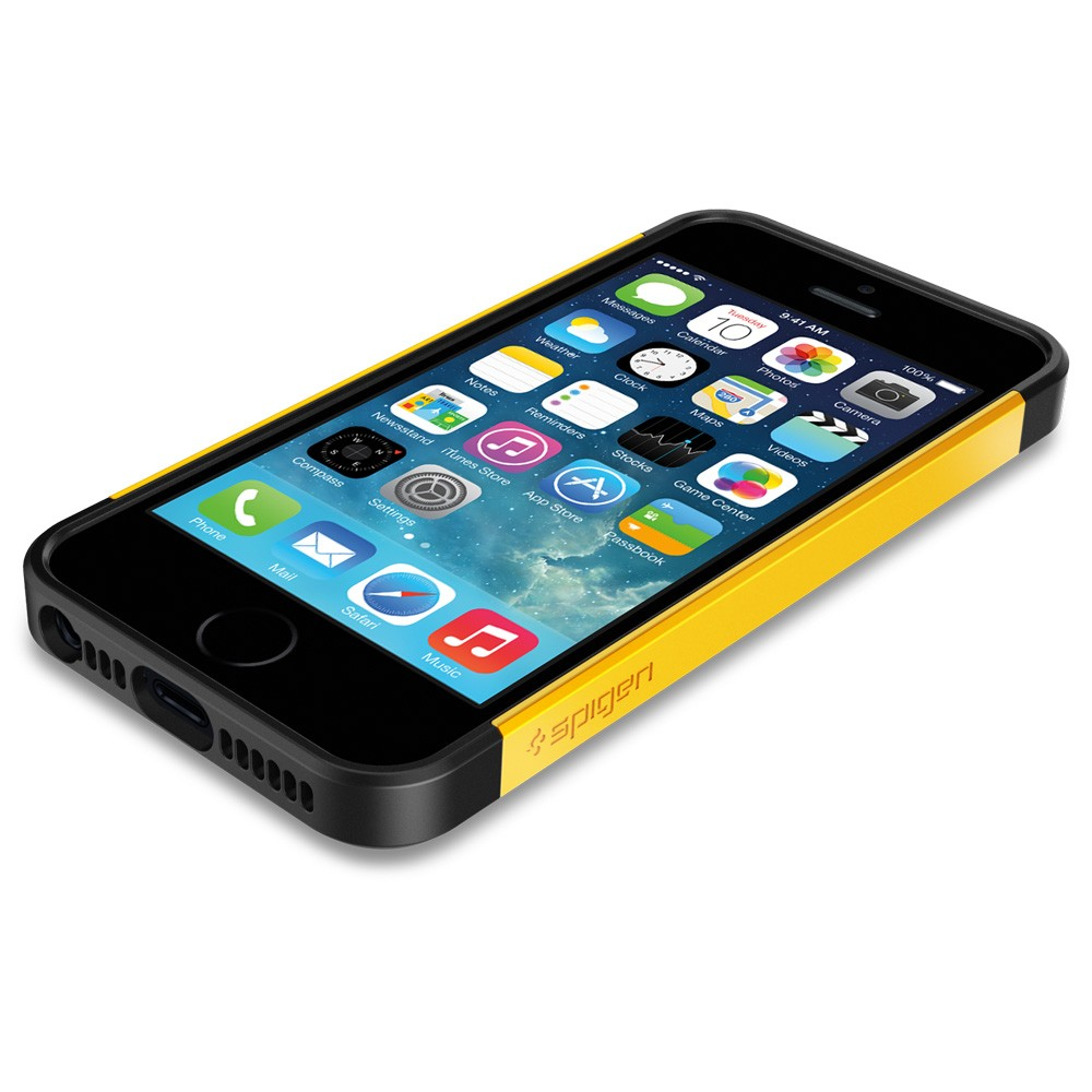 Slim Armor S Case for iPhone 5 - Yellow