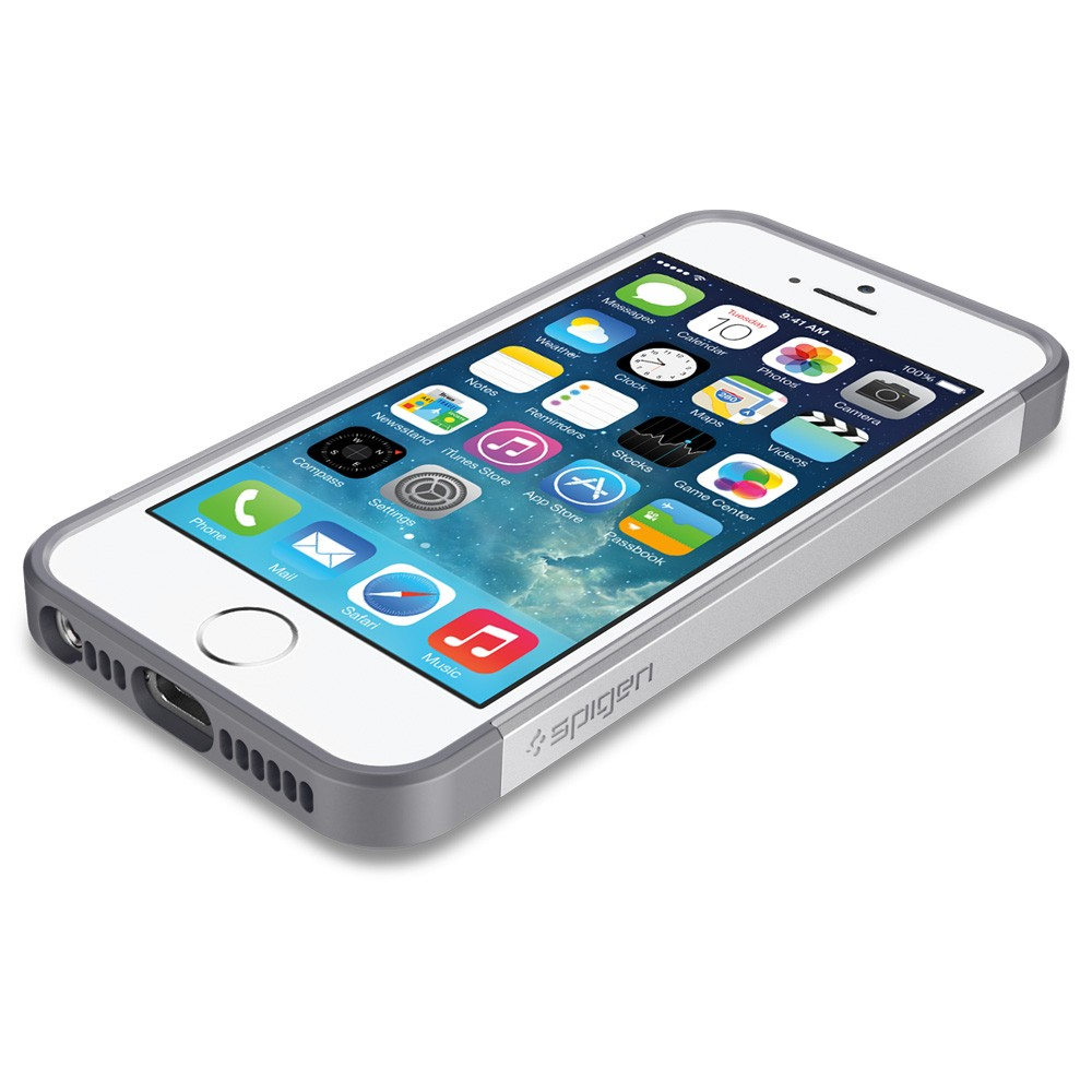 Slim Armor S Case for iPhone 5 - Silver