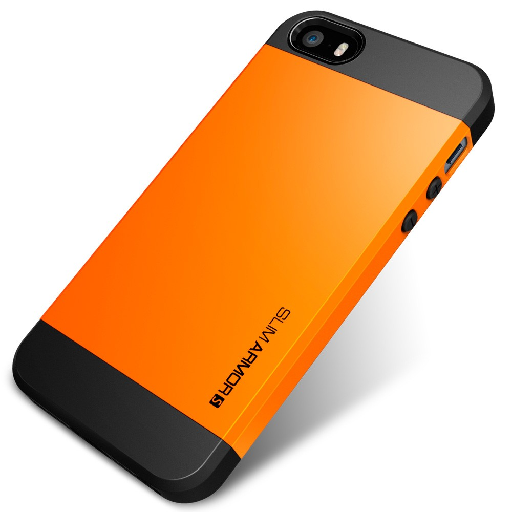 Slim Armor S Case for iPhone 5 - Tangerine Tango