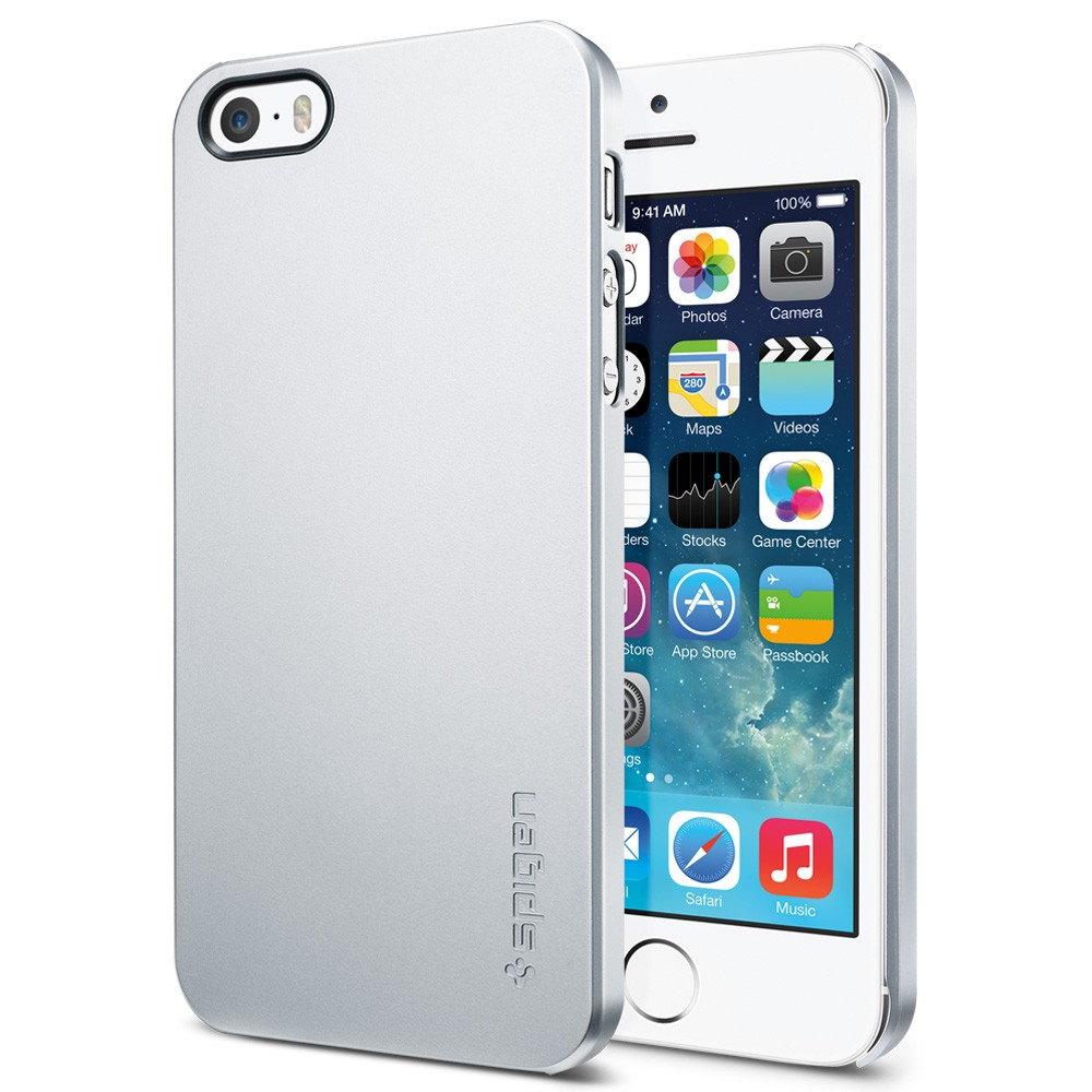 iphone 5s silver spigen sgp ultra thin air for iphone 5s 5 silver 11247