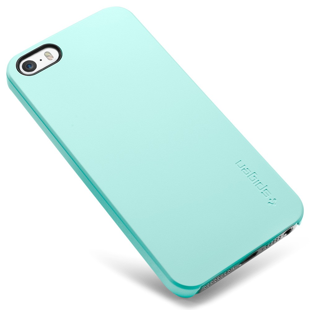 purchase cheap 5238b 75e02 Spigen SGP Ultra Thin Air Case for iPhone 5S / 5 - Mint Green