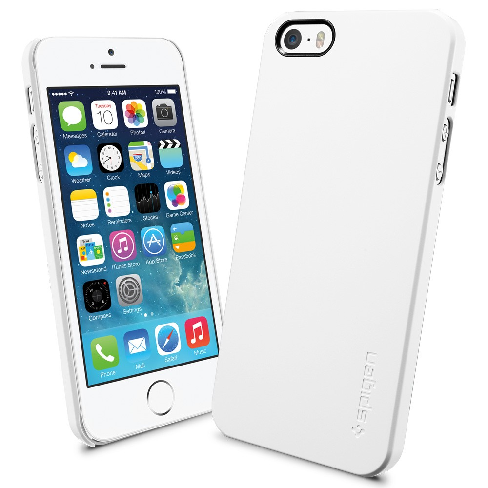 Spigen SGP  Ultra Thin Air Case for iPhone 5S / 5 - White