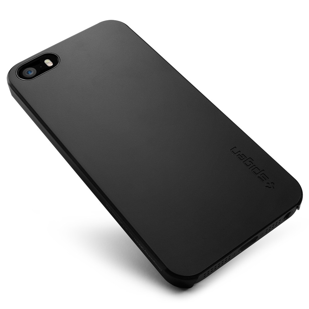 low priced f3bdc 2bbeb Spigen SGP Ultra Thin Air Case for iPhone 5S / 5 - Black