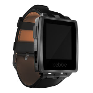 Pebble Steel Smartwatch for iOS & Android Devices - Brushed Stainless