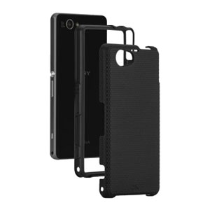 Case-Mate Tough Case for Sony Xperia Z1 - Black/Black