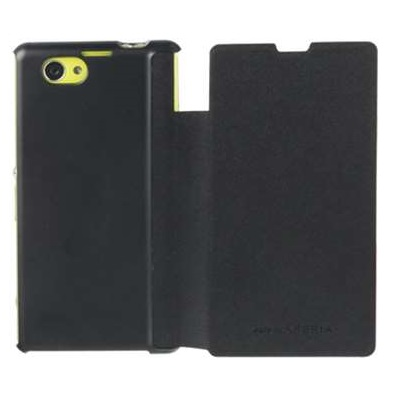 Roxfit Book Flip Case for Sony Xperia Z1 - Nero Black