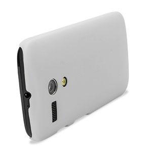 Translucent Shell Cover for Motorola Moto G - White