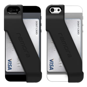Incipio Stashback Credit Card Case for iPhone 5 - Black