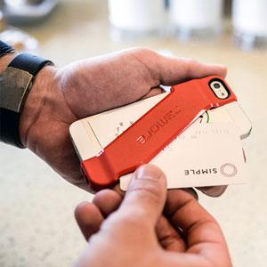 Incipio Stashback Credit Card Case for iPhone 5 - Black