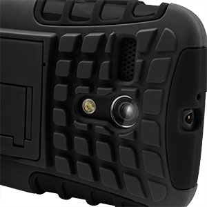 Armourdillo Hybrid Protective Case for Motorola Moto G - Black