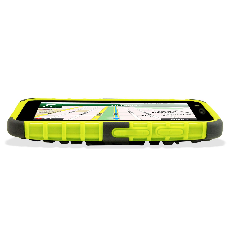 Armourdillo Hybrid Protective Case for Motorola Moto G - Green