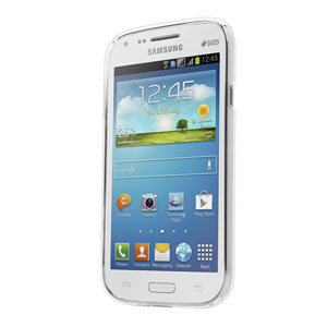 Capdase Soft Jacket Xpose for Samsung Galaxy Core - Frost White