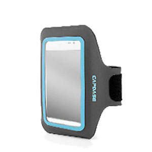 Capdase Zonic Plus Sport ArmBand 145A for Smartphones - Grey / BLue