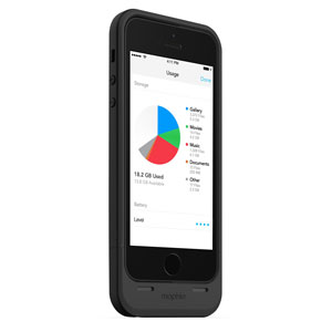 Mophie 16GB Space Pack for iPhone 5S / 5 - Black