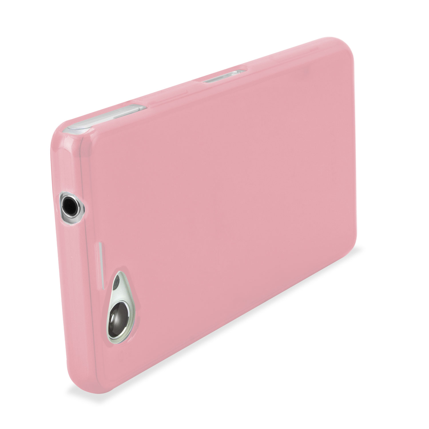 Flexishield Case For Sony Xperia Z1 Compact Powder Pink