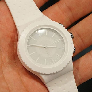 COGITO POP Analog SmartWatch - White