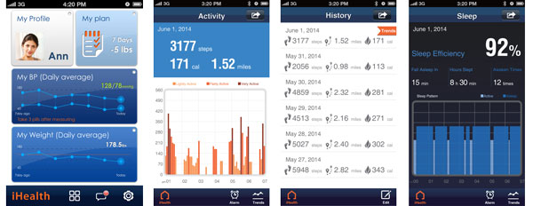 iHealth Wireless Activity and Sleep Tracker