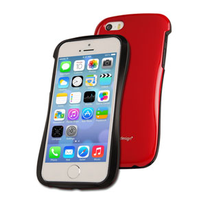 Draco Design Allure P Bumper Case for iPhone 5S / 5 - Red