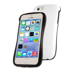 Draco Design Allure P Bumper Case for iPhone 5S / 5 - White