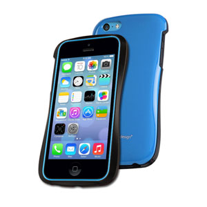 Draco Design Allure CP Ultra Slim Bumper Case for iPhone 5C - Blue