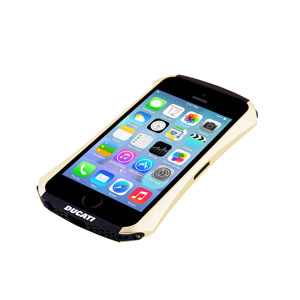 Draco Ducati Ventare A Aluminium Bumper for iPhone 5S / 5 - Gold