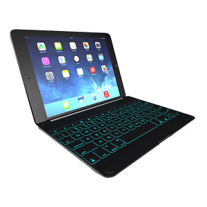 ZAGGkeys Keyboard Cover for iPad Air - Black