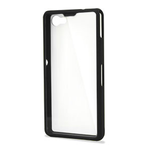Muvit Bimat Back Case for Sony Xperia Z1 Compact - Clear / Black