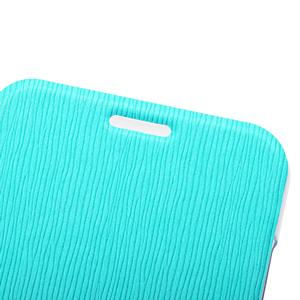 ROCK Elegant Side Flip Case for Moto X - Teal Green