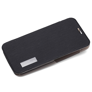 ROCK Elegant Side Flip Case for Moto X - Black