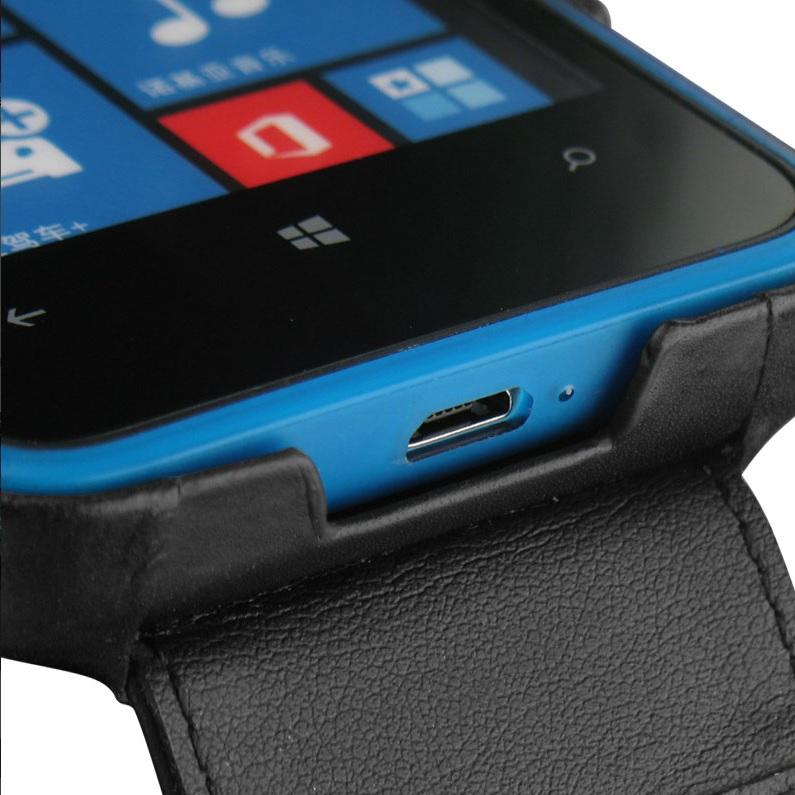 Noreve Tradition Case for Nokia Lumia 620 - Black