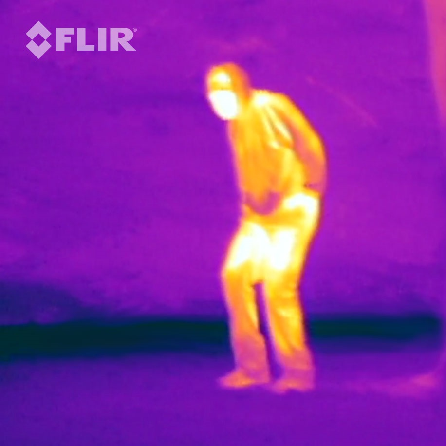 FLIR One Personal Thermal Imaging Case for iPhone 5 / 5S