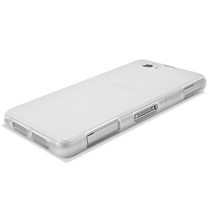 Flexishield Case for Sony Xperia Z1 Compact  - Frosted White