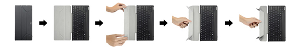 ASUS TransKeyboard Cover and Wireless Keyboard for Windows and Android