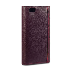 Covert Suki Leather Style Purse Case for iPhone 5S / 5 - Maroon