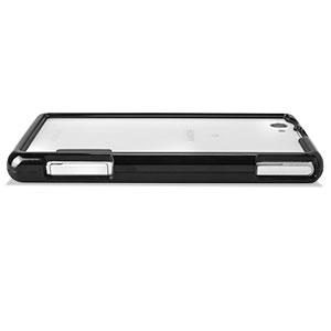 Flexiframe Sony Xperia Z1 Compact Bumper Case - Black
