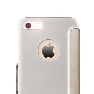 Moshi SenseCover for iPhone SE / 5S / 5 - Brushed Titanium