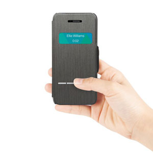 Moshi SenseCover for iPhone SE / 5S / 5 - Steel Black