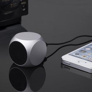 Qube Pocket Speaker -Silver