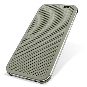best service 76d6a b6d32 Official HTC One M8 / M8s Dot View Case - Grey