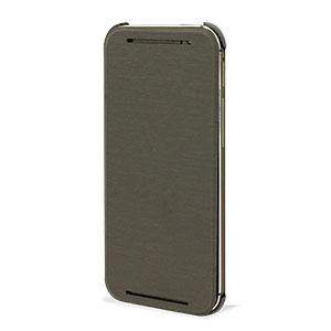 Official HTC One M8 2014 Flip Case - Grey