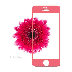 Moshi iVisor Glass Screen Protector for iPhone 5S / 5C / 5 - Pink