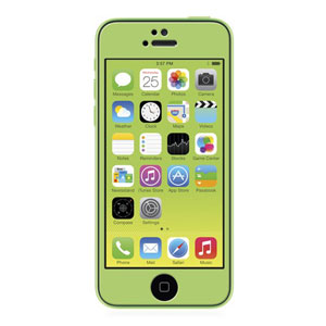 Moshi iVisor Glass Screen Protector for iPhone 5S / 5C / 5 - Green