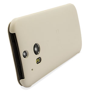 Official HTC One M8 Flip Case - White
